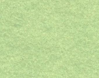 Wool Felt - Pistachio Ice Cream Green - Sold By the Half Yard (BTHY)