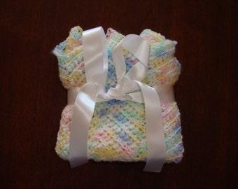 Pastel Confetti Baby Blanket