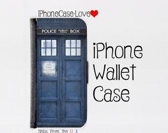 iPhone 6 Plus Case - iPhone 6 Plus Wallet Case - Tardis iphone 6 plus Case - Tardis iPhone 6 plus Wallet Case