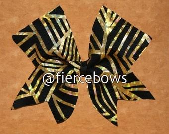 Golden Aztec Cheer Bow