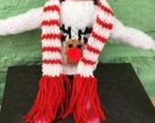 Elf rudolph jumper  scarf Christmas elf elf clothes elf girl elf boy