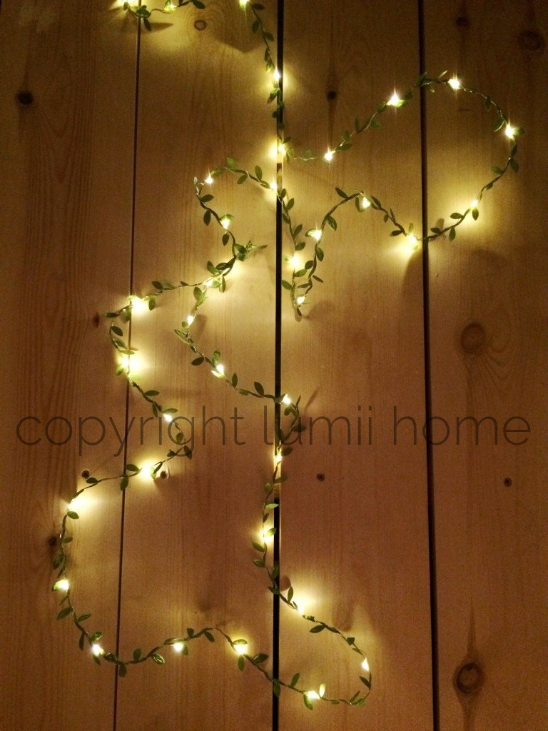 Philips Garland Led String Lights : Long length 4m leaf garland LED fairy string lights perfect