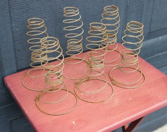 Primitive RUsty Bed Springs For Upcycle Repurpose Steampunk Rare Shape / Style