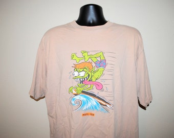 1996 Pearl Jam Gremmie Out of Control Rare Vintage 90's Alternative Rock Grunge Band Music For Our Mother Ocean Comp T-Shirt