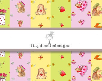 Woodland friends scrap booking collection