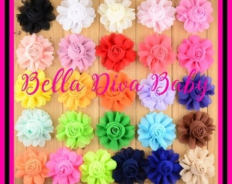 how to make chiffon rosette headbands