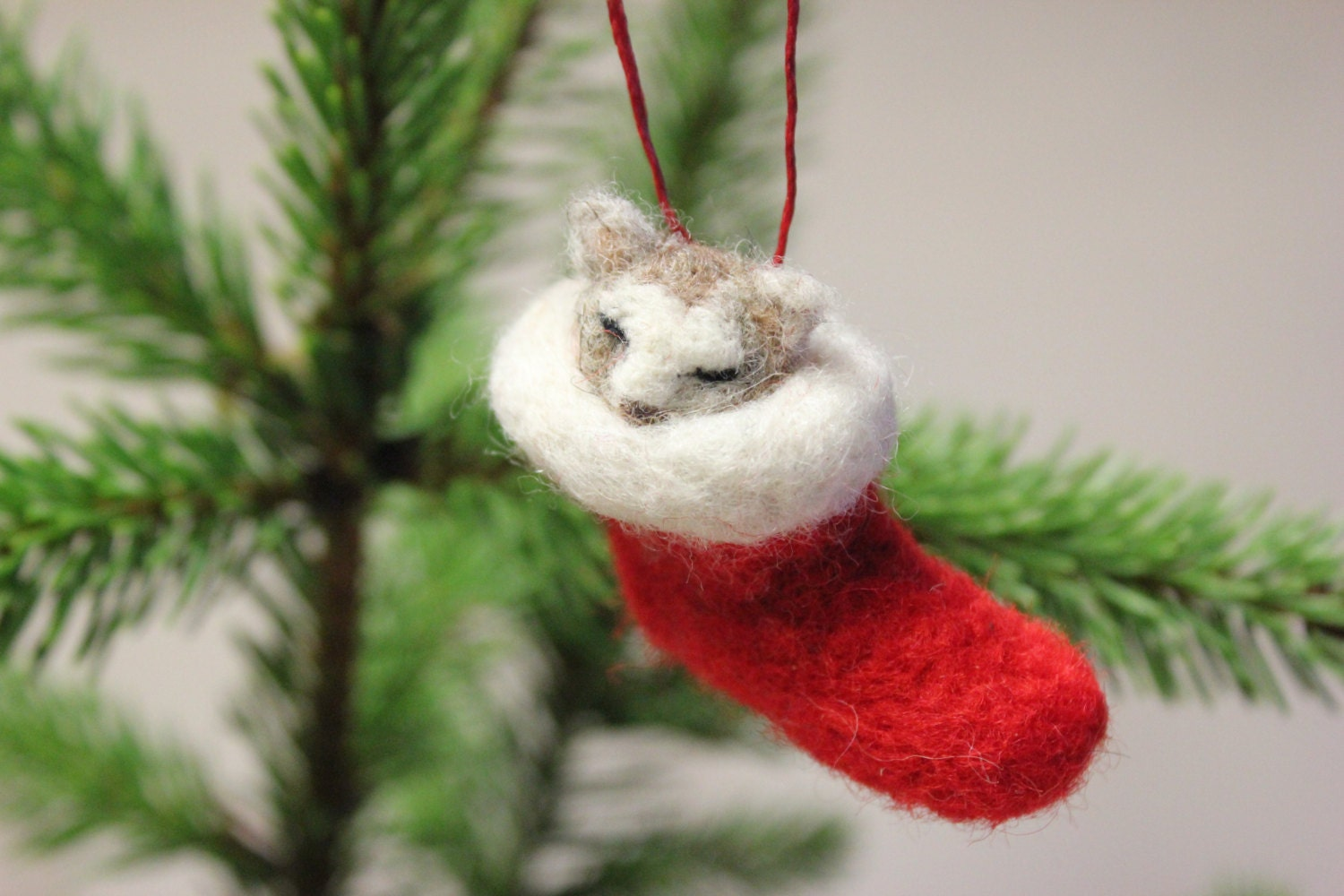Wool Christmas Ornaments