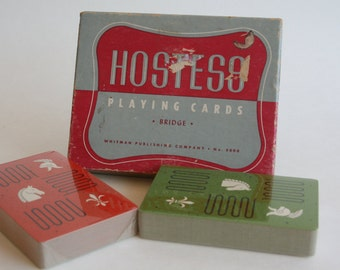 Hostess Playing Cards
