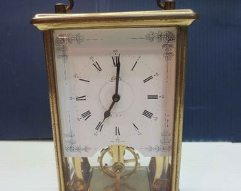 1950's schatz & sohne 8 day carriage clock from Germany