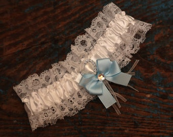 Brides Wedding Garter - With Bow