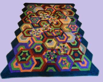 Geomatric quilt