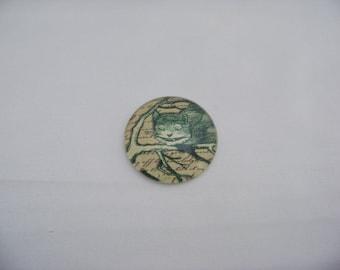 Cheschire Cat Art Print Cab 4676