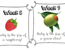Week by week pregnancy fruits, maternity, weekly, update