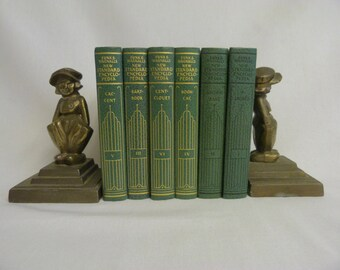 Encyclopedia  Funk & Wagnalls Encyclopedias Vintage Books  Green Books