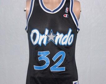 Vintage Orlando Magic Shaquille O'Neal Champion Jersey 36