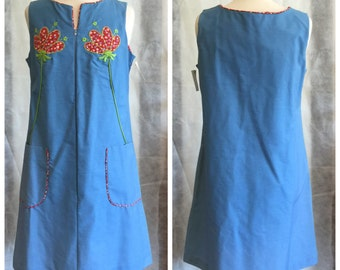 Vintage Deadstock Smock House Dress