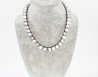 Howlite Stone Necklace