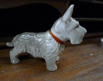 Ceramic Scotty dog figurine
