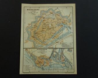 Map of zeeland decor  Etsy