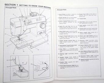 Singer Models 4562, 4572, 93234, 93220 ORIGINAL MANUAL Free Arm Sewing Machine Instructions