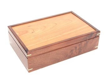 Walnut and Cherry Box