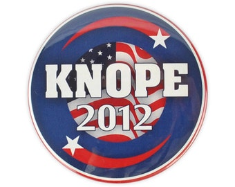 "Leslie Knope Large ""Knope 2012""  Button! parks and recreation, Amy Poehler. pawnee council election"