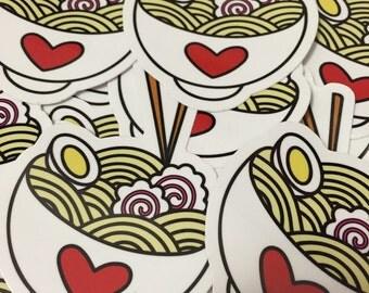 Ramen Lovers Sticker