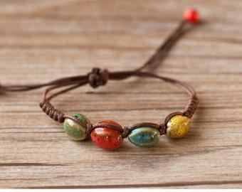 Handmade Ceramics Bracelets