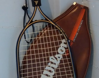 Vintage, Racquetball Racquet, ProKennex, Graphic Blaster, Racquetball Racquet Cover, Wilson Arrow Dynamic Extrusion, Sporting Goods