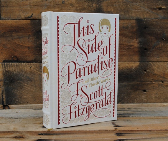 Book Safe - This Side of Paradise - Leather Bound Hollow Book Safe