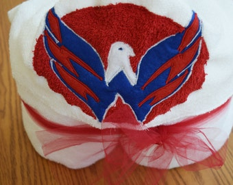 Washington Capitals Hooded Towel