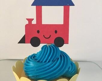 Chugger's Choo Choo Train Cupcake Topper
