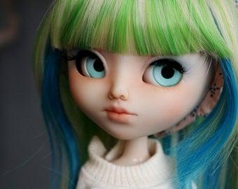 Eyechips for Groove Dolls - Mint Sorbet (regular pupil)