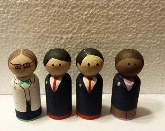 Odd Squad Peg Dolls