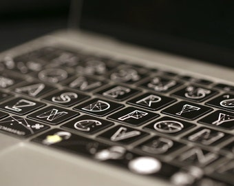 MacBook Keyborad protector Keyboard Skin Macbook Keyboard Decal Macbook Pro Macbook Air Sticker apple wireless keyboard zodiac