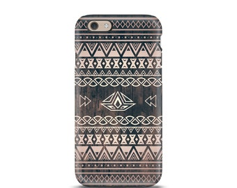 iPhone 7 tough case, iPhone 7 Plus tough case, iPhone 6s tough case, iPhone 6 tough case, iPhone 5s tough case, Tough iPhone case - Aztec
