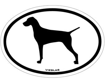 Vizslas Vinyl Decal Sticker