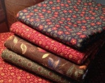 Fabric FAT QUARTER: Flannel Days by Kansas Troubles Quilts for Moda Fabrics