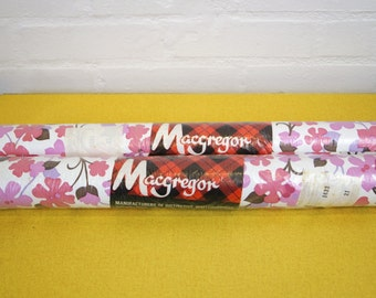 Two rolls of 1980s' vintage wallpaper