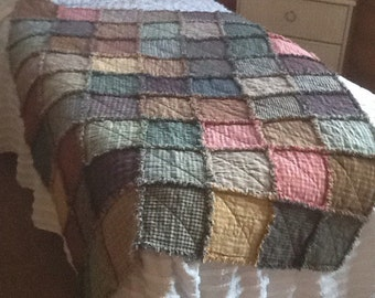 Homespun Rag throw