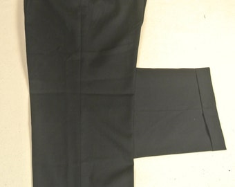 Jos. A. Bank Navy 100% Wool Worsted Dress Pleat Trousers Men's Waist Size: 34x27