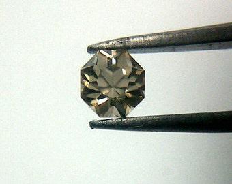 Golden Beryl, Loose Faceted Gemstone, Petal 8 Cut, .32 CTW