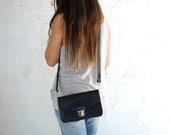 Leather handmade bags, leather purse crossbody, leather purse, leather satchel, leather handbag handmade, Little black purse