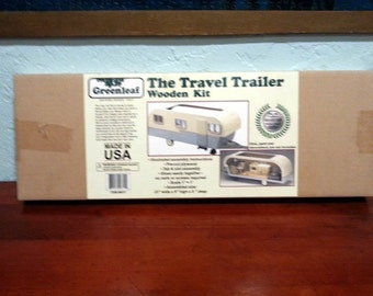 Vintage Travel Trailer Kit