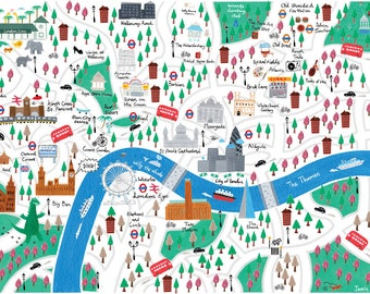 Map of London 1