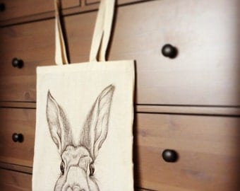 Hand Drawn Animal Bags