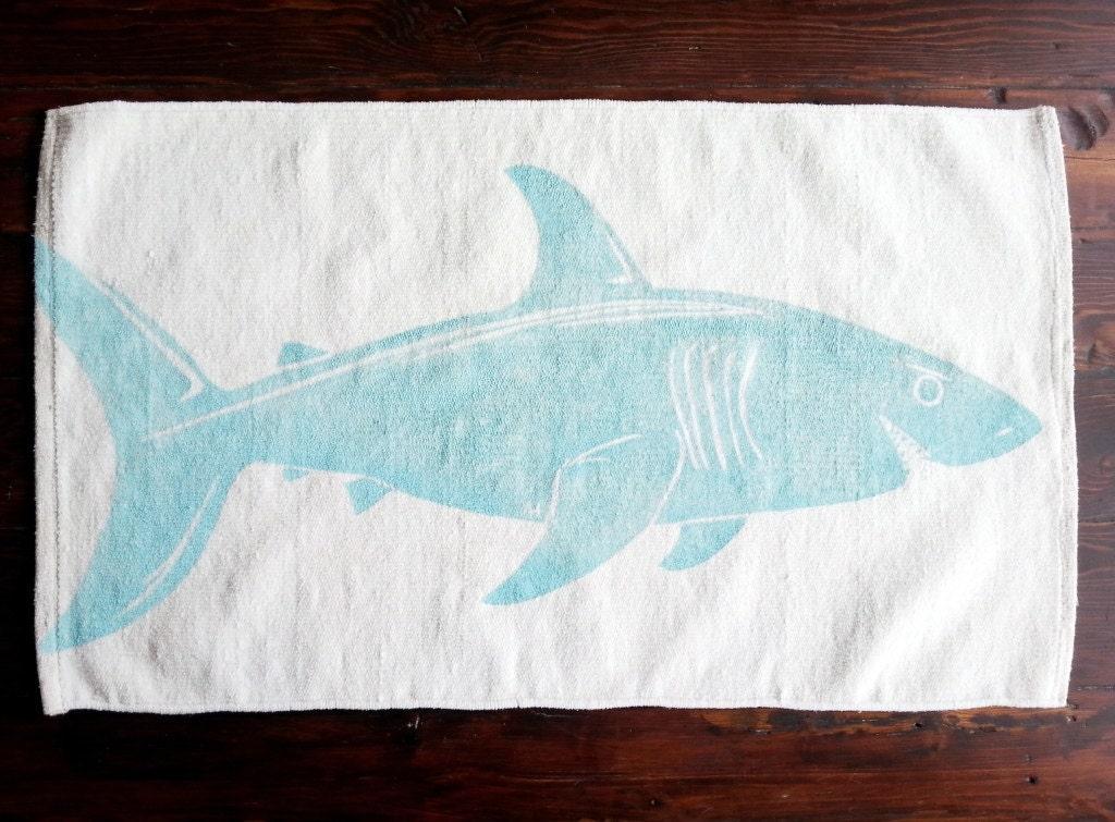 Bath Rug Bath Mat Shark Cotton Chenille Rug