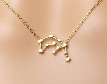 High quality Zodiac Aquarius Constellation Necklace, Aquarius Necklace, Zodiac necklace,Constellation Jewelry,Gift idea, zodiac jewelry