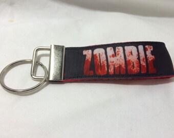 Zombie strap keychain