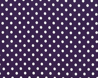 Michael Miller Fabrics - Dumb Dot Amethyst - CX2490-AMET-D